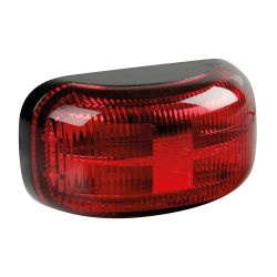 LUZ DE GALIBO MONTAJE EN SUPERFICIE 4 LED 10/30V ROJO