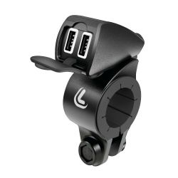 CARGADOR DOBLE USB 12/24V...
