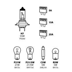 LAMPARA H7 12V (BLISTER 5...