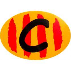 ADHESIVO C CATALUÑA 6X8 CM