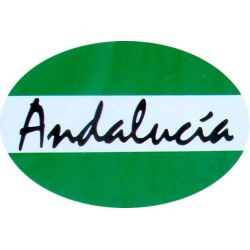 ADHESIVO ANDALUCIA LETRA...