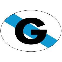 ADHESIVO G GALICIA 6X8 CM