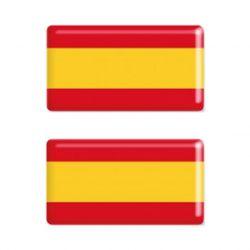 ADHESIVO RESINA ESPAÑA 2UDS 7X14 CM