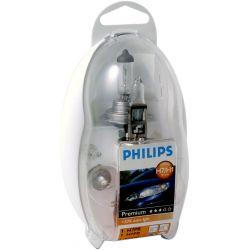 LAMPARA H1/H7 EASY KIT PHILIPS 12V (CAJA 5 UNIDADES)