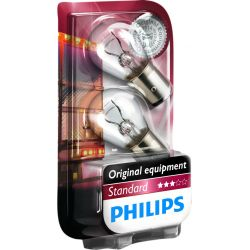 LAMPARA P21/5W STANDARD PHILIPS 24V 21W NAY15D (blister 2 unds)