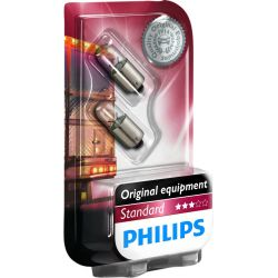 LAMPARA TAW STANDARD PHILIPS 24V 4W BA9S (blister 2 unds)