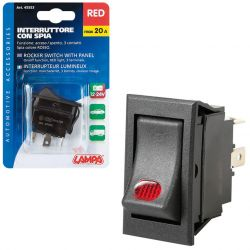 INTERRUPTOR LUMINOSO 12V 20A