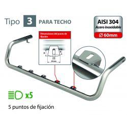 BARRA DE FARO PARA TECHO TIPO 3 VOLVO FH SERIE 4 (09/12+)