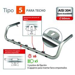 BARRA DE FARO PARA TECHO TIPO 5 VOLVO FH SERIE 4 (09/12+)