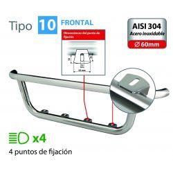 BARRA DE FARO FRONTAL TIPO 10 SERIE FH VOLVO 4 (09/12+)