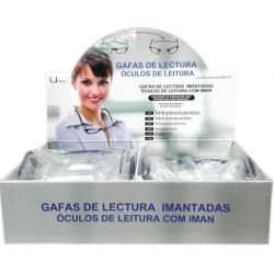 GAFAS DE LECTURA GRADUADAS CON CIERRE CENTRAL IMANTADO