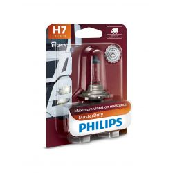 LAMPARA H7 MASTERDUTY PHILIPS 24V 70W PX26D