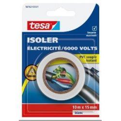 CINTA AISLANTE TESA PVC BLANCA 10M