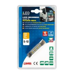 LUZ GALIBO 4 LED 12/24V AMBAR