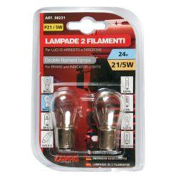 LAMPARA P21/5W 2 FILAMENTOS...