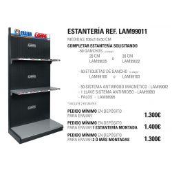 ESTANTERIA GRANDE LAMPA 210X100X50 CM CABECERA PLANA