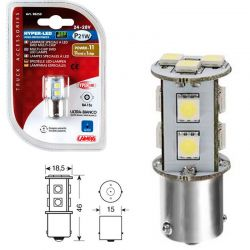 LAMPARA HYPER LED POWER 33 BLANCO 24/28V P21W