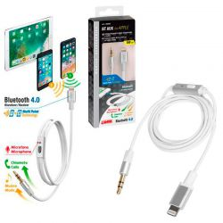 CABLE AUXILIAR APPLE 8 PIN CON BLUETOOTH