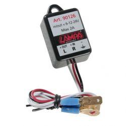 INTERMITENTE ELECTRONICO UNIVERSAL 6/12/24V MAX 2A