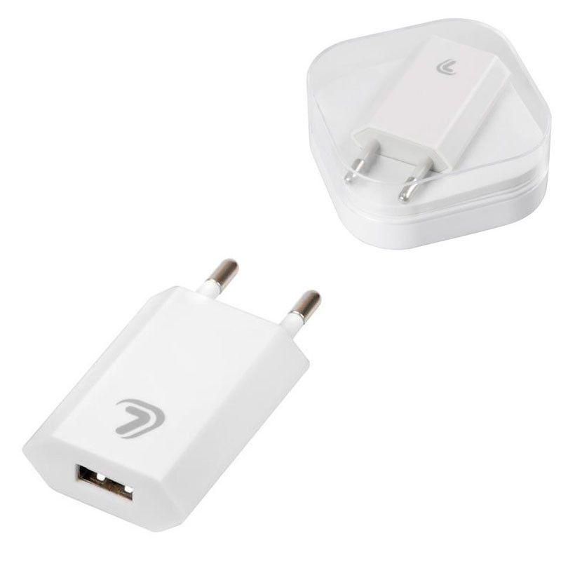 CARGADOR 1 PUERTO USB ESSENTIAL 1000 mA 100/230 V