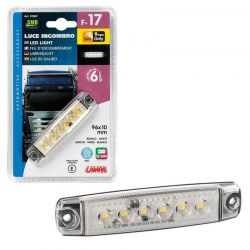 LUZ GALIBO 6 LED 12/24V BLANCA