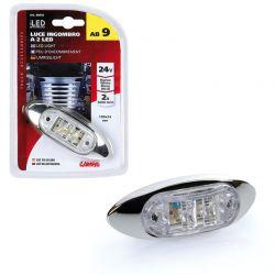 LUZ 2 LED 24V BLANCO