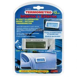"""TERMOMETRO ILUMINADO """"THERMO-BLUE"""""""