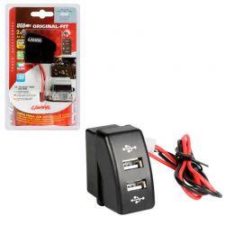 TOMA DOBLE USB 12/24V DAF