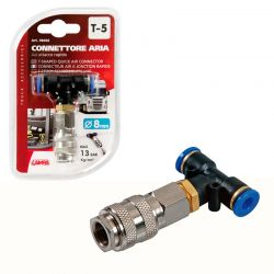 CONECTOR RAPIDO AIRE T-5 8MM