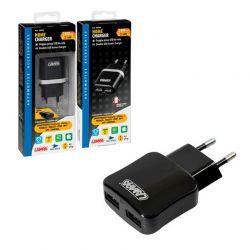 CARGADOR DOBLE USB 230V 2100 mA