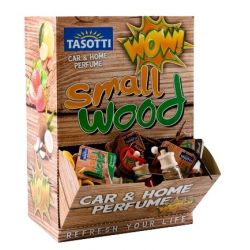 AMBIENTADOR TASOTTI SMALL WOOD 4ML (EXPOSITOR 60 UNIDADES)