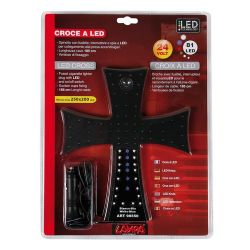CRUZ LUMINOSA AZUL 24V